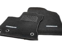 Toyota Corolla Carpet Trunk Mat-Black - PT206-02141-20