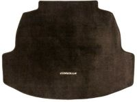 Toyota Corolla Carpet Trunk Mat-Black - PT206-02204-02