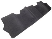 Toyota Yaris Carpet Trunk Mat-Black - PT206-1M190-02