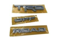 Toyota 4Runner TRD Off Road Badge. Exterior Emblem. - PT413-89170
