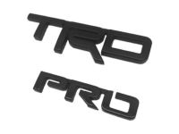 Toyota 4Runner TRD PRO Badge for Back Door. Exterior Emblem. - PT413-89171