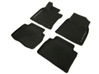 Toyota Camry Hybrid All Weather Floor Liners-Black-Hybrid Models - PT908-03181-20