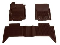 Toyota Tacoma All Weather Floor Liners-M/T Access Cab - PT908-35173-20