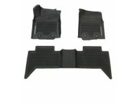 Toyota Tacoma All Weather Floor Liners-M/T Double Cab - PT908-35175-20