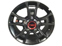 "Toyota TRD 18"" Matte Black Alloy Wheels - PT960-34200-02"