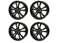 Toyota TRD 18-In. Black Alloy Wheel - PTR56-18130