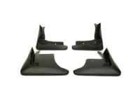 Toyota Camry Mudguards & Hardware-Black-Front and Rear-Globally Sourced - PU060-03180-TP