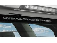 Toyota Prius Hybrid Synergy Drive® Window Graphic - PT747-00072