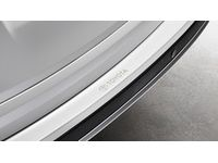Toyota Rear Bumper Applique - Clear with Logo - PT929-42180