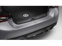 Toyota 86 Rear Bumper Applique - Clear - PT929-18170