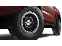 Toyota TRD 16-In. Off-Road Beadlock-Style Wheels - Black - PTR18-35090