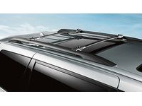 Toyota Roof Rack Cross Bars - Black - PT278-08102
