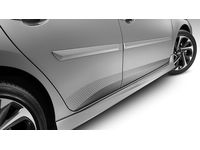 Scion iM Body Side Moldings-(1F7) Classic Silver Metallic - PT938-52120-01