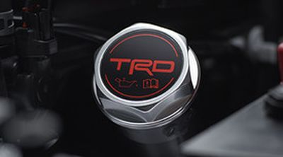 Toyota PTR35-00070 TRD Oil Cap - Forged