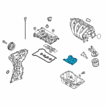 2017 Toyota Yaris iA Engine Parts