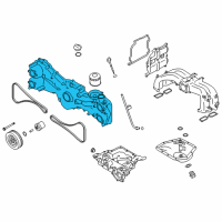 Scion Timing Cover - SU003-07504 and Related Parts