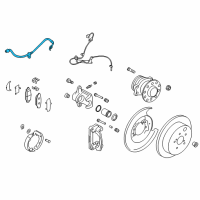 Scion Brake Line - SU003-00618 and Related Parts