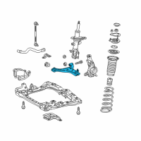 Scion iQ Control Arm - 48068-79018 and Related Parts