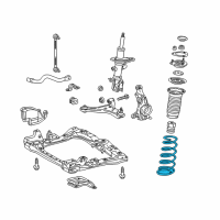 Scion Coil Springs - 48131-74080 and Related Parts