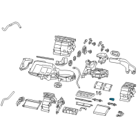 Scion A/C Expansion Valve - SU003-A0014 and Related Parts