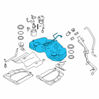 Scion Fuel Tank - SU003-01013 and Related Parts