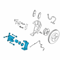 Scion Brake Caliper - 47730-WB002 and Related Parts