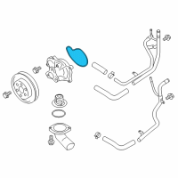 Toyota 86 Water Pump Gasket - SU003-00402 and Related Parts