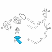 Scion FR-S Thermostat Housing - SU003-00113 and Related Parts
