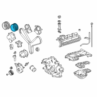 Toyota Tundra Cam Gear - 13056-50030 and Related Parts