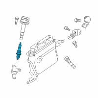 Toyota Spark Plug - 90919-01275 and Related Parts