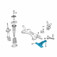 Scion Control Arm - 48068-21020 and Related Parts