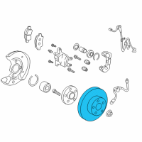 Scion Brake Disc - 43512-74010 and Related Parts