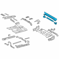 Toyota Tundra Rear Crossmember - 57606-0C040 and Related Parts