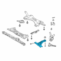 Toyota Corolla iM Control Arm - 48068-12300 and Related Parts