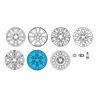 Toyota Tundra Spare Wheel - 4260D-0C020 and Related Parts