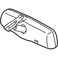 Toyota 87810-06080 Mirror Assembly, Inner Rear View