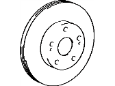 Toyota Brake Disc - 43512-17040
