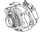 Toyota Venza Alternator - 27060-0P141