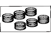 Toyota 4Runner Piston Ring - 13013-62100