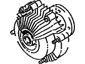 Toyota Pickup Fan Clutch - 16210-62010