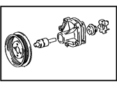 Toyota Tercel Water Pump - 16110-19107