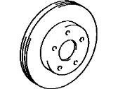 Toyota Brake Disc - 43512-28060