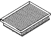 Toyota Air Filter - 17801-37020