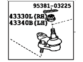 Toyota Ball Joint - 43330-39775