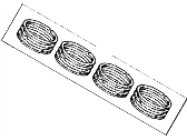 Toyota 4Runner Piston Ring - 13011-35051