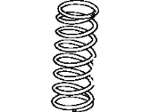 Toyota Coil Springs - 48131-35140