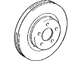 Toyota RAV4 Brake Disc - 43512-42080