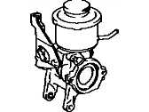 Toyota Power Steering Pump - 44320-12060