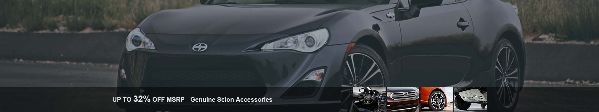 Shop Scion accessories with lowest prices